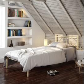 Кровать Иберис (Мини) 80*190 см белый Tenero
