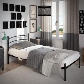 Кровать Маранта (Мини) 90*190 см черный Tenero