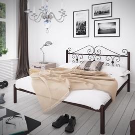 Кровать Бегония 120*190 см коричневый Tenero
