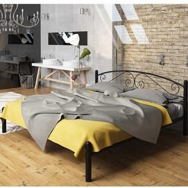 Кровать Виола 120*190 см черный Tenero