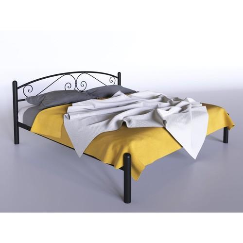 Кровать Виола 120*200 см черный Tenero