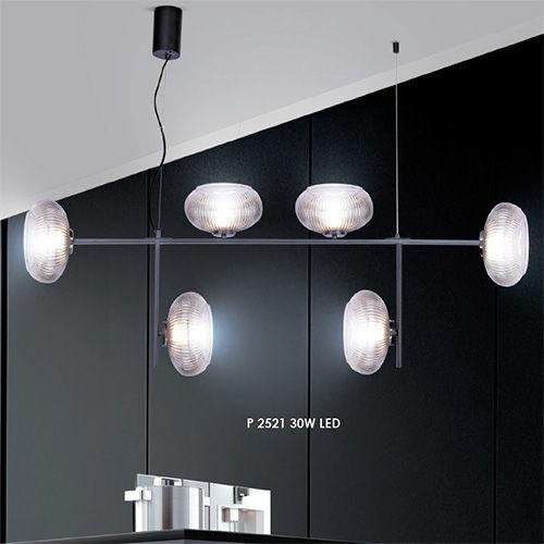 Подвес   P 2521 30W LED графит Stellare