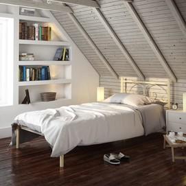 Кровать Иберис (Мини) 80*200 см белый Tenero