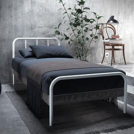 Кровать Ирис Мини 80*190 см белый Tenero