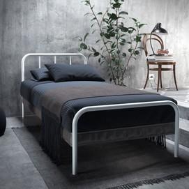 Кровать Ирис Мини 90*200 см белый Tenero