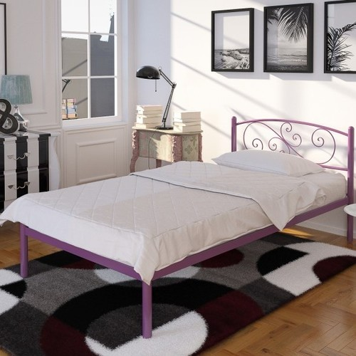 Кровать Лилия мини 80*190 см бордо Tenero