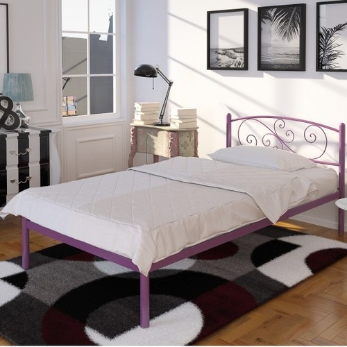 Кровать Лилия мини 80*200 см бордо Tenero