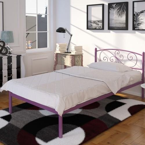 Кровать Лилия мини 90*190 см бордо Tenero
