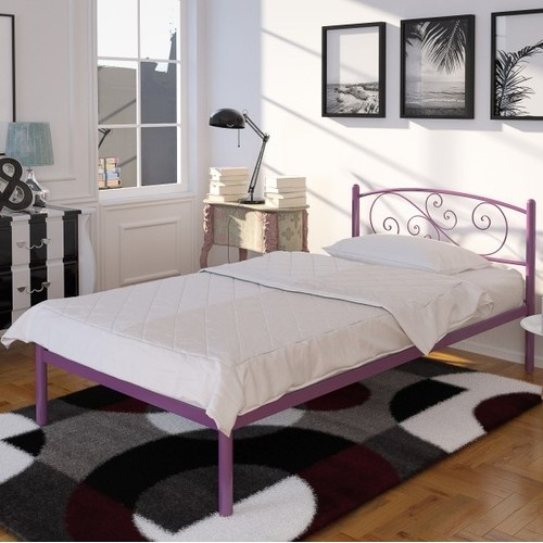 Кровать Лилия мини 90*200 см бордо Tenero