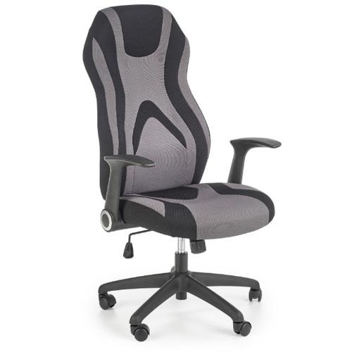 Кресло офисное JOFREY черный+серый Halmar