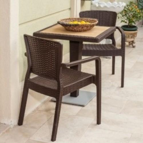 Кресло ANTARES коричневый Tilia