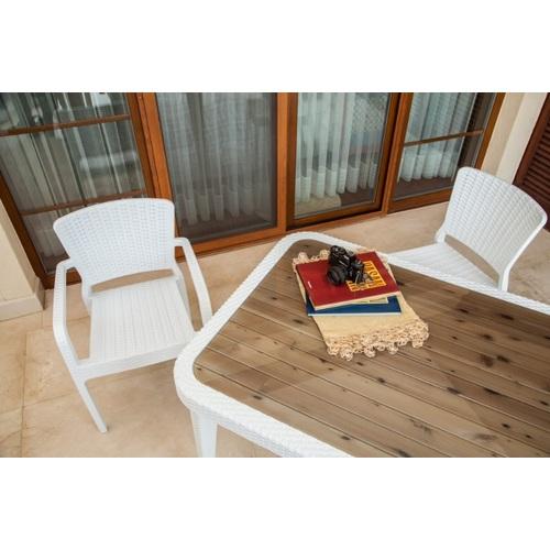 Кресло ANTARES белый Tilia