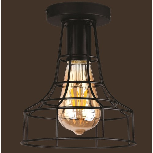 Лампа потолочная 752X8876-1 BK черный Thexata 2020
