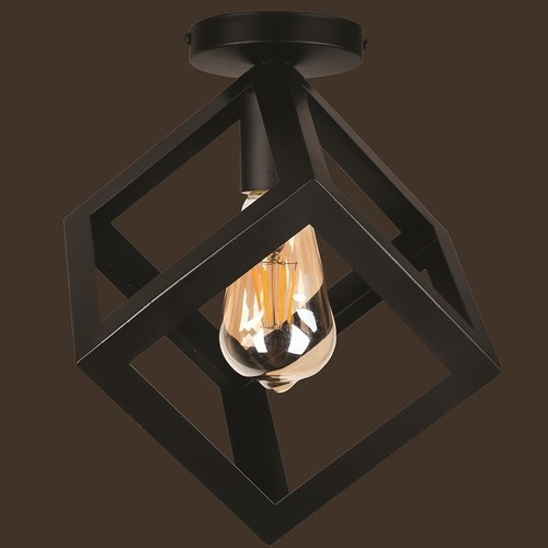 Лампа потолочная 756XPR160F-1 BK черный Thexata 2020