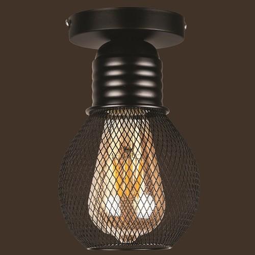 Лампа потолочная 907X004F-1 BK черный Thexata 2020
