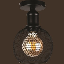 Лампа потолочная 907X011F-1 BK черный Thexata 2020