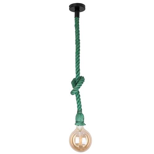 Лампа шнур 915001-1 Green зеленый Thexata 2020