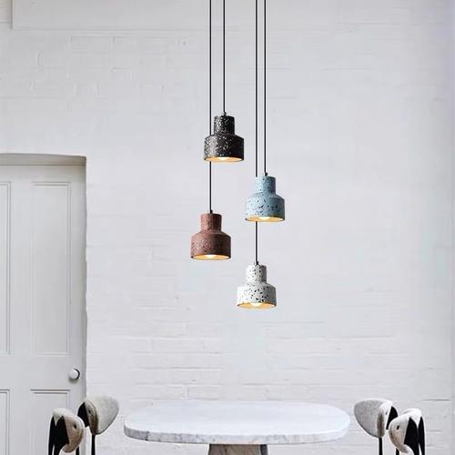 Лампа подвесная 30012 голубой Loft 2020