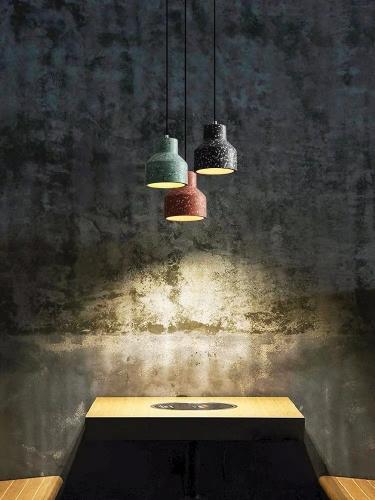 Лампа подвесная 30014 черный Loft 2020