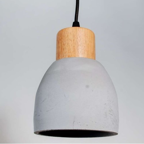 Лампа подвесная 30029 серый Loft 2020