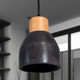 Лампа подвесная 30028 черный Loft 2020