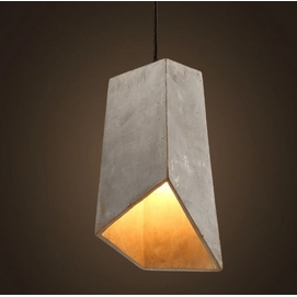 Лампа подвесная 30018 серый Loft 2020