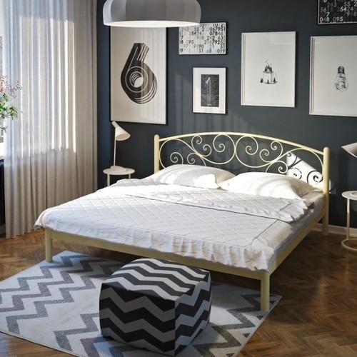 Кровать Лилия 140*190 см бежевый Tenero