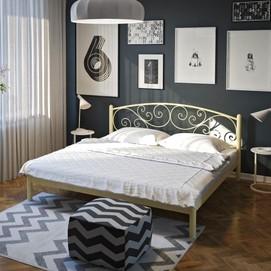 Кровать Лилия 140*200 см бежевый Tenero