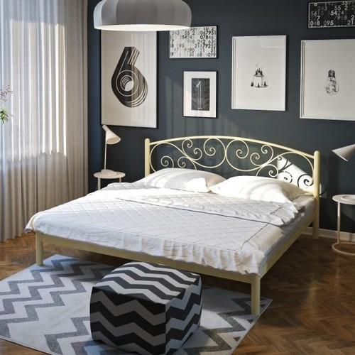 Кровать Лилия 160*190 см бежевый Tenero
