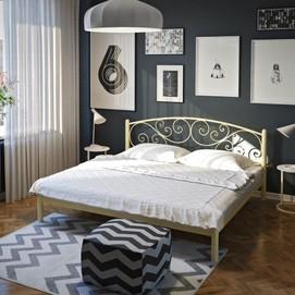 Кровать Лилия 160*200 см бежевый Tenero
