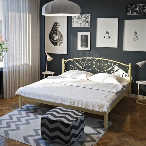 Кровать Лилия 180*200 см бежевый Tenero