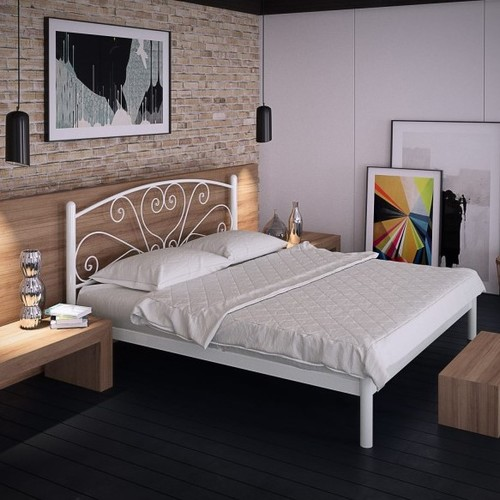 Кровать Карисса 120*190 см белый Tenero