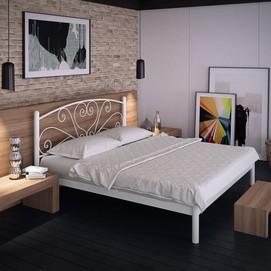 Кровать Карисса 120*200 см белый Tenero