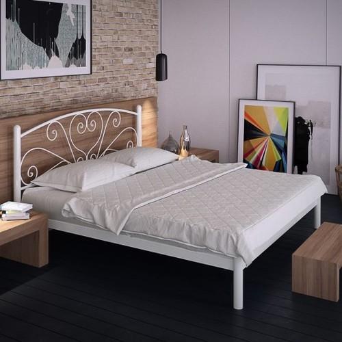 Кровать Карисса 140*190 см белый Tenero