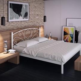 Кровать Карисса 160*190 см белый Tenero