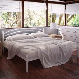 Кровать Маранта 120*190 см белый Tenero