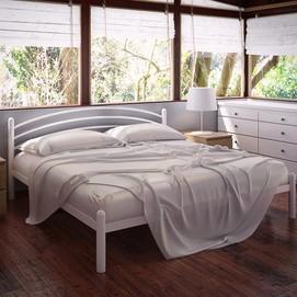 Кровать Маранта 140*190 см белый Tenero