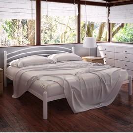 Кровать Маранта 160*190 см белый Tenero