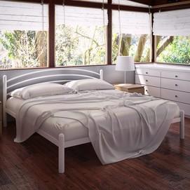 Кровать Маранта 160*200 см белый Tenero
