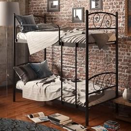 Кровать Виола 80*190 см черный Tenero