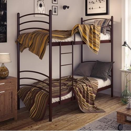 Кровать Маранта 90*200 см коричневый Tenero