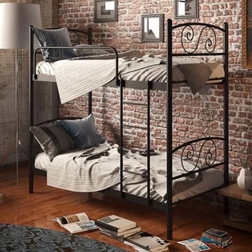 Кровать Виола 80*200 см черный Tenero
