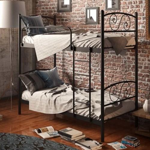 Кровать Виола 90*190 см черный Tenero