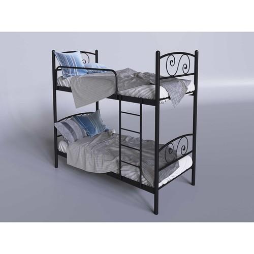 Кровать Виола 90*200 см черный Tenero