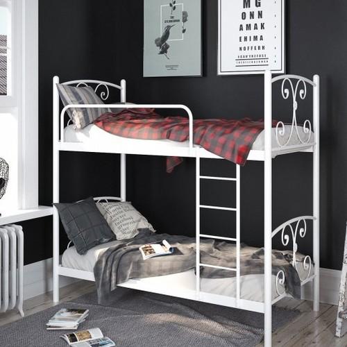 Кровать Жасмин 80*190 см белый Tenero