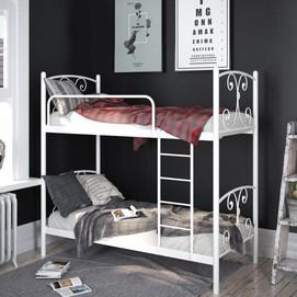 Кровать Жасмин 80*200 см белый Tenero