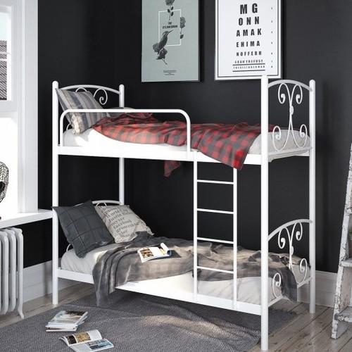 Кровать Жасмин 90*190 см белый Tenero