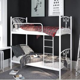 Кровать Жасмин 90*200 см белый Tenero