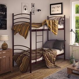 Кровать Маранта 80*200 см коричневый Tenero