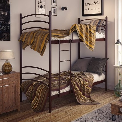 Кровать Маранта 90*190 см коричневый Tenero